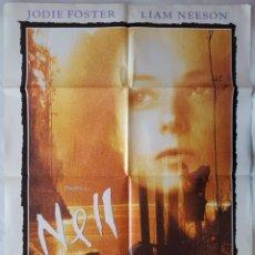 Cine: CARTEL DE CINE / NELL / 1994 / 70X100. Lote 159242298