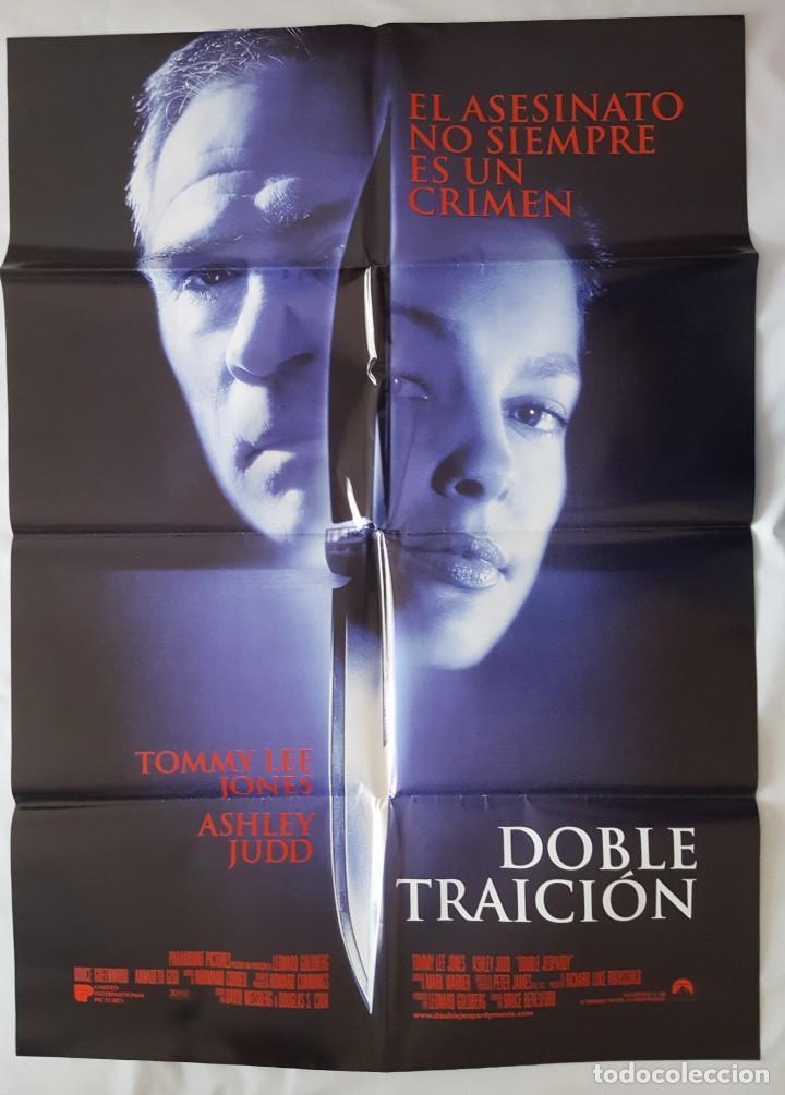 CARTEL DE CINE / DOBLE TRAICION / 1999 / 70X100 (Cine - Posters y Carteles - Suspense)