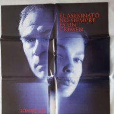 Cine: CARTEL DE CINE / DOBLE TRAICION / 1999 / 70X100. Lote 159267338