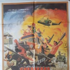 Cine: CARTEL DE CINE / LOS GUERREROS DE LA JUNGLA / 1984 / 70X100. Lote 159304402