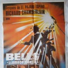 Cine: CARTEL DE CINE / BELLS LLAMADA MORTAL / 1981 / 70X100. Lote 159393658