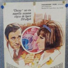 Cinéma: VUELVE A MI LADO. BARBRA STREISAND, YVES MONTAND. AÑO 1970 POSTER ORIGINAL. Lote 159403890