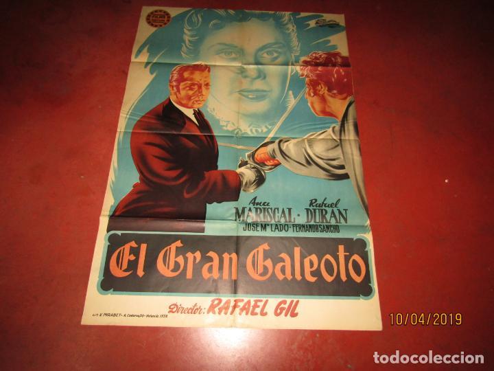 Cine: Antiguo Cartel en Litografía EL GRAN GALEOTO con Ana Mariscal - Litografia MIRABET en Valencia - Foto 2 - 159551818