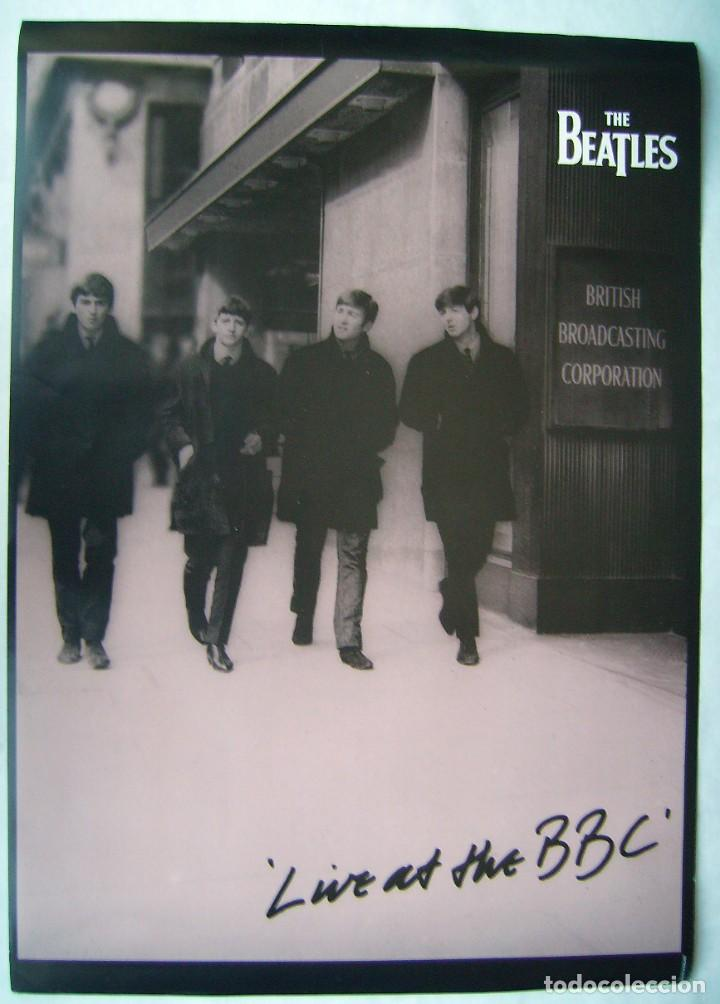 THE BEATLES. POSTER INGLÉS 59,5 X 84 CMS. (Cine - Posters y Carteles - Musicales)