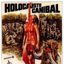 Cine: HOLOCAUSTO CANÍBAL (POSTER). Lote 159925773