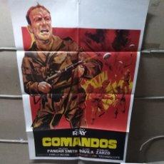 Cine: COMANDOS ALDO RAY POSTER ORIGINAL 70X100 YY (2028). Lote 160096922