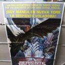 Cine: LA SERPIENTE VOLADORA DAVID CARRADINE POSTER ORIGINAL 70X100 YY (2029). Lote 160097342