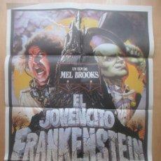 Cine: CARTEL CINE, EL JOVENCITO FRANKENSTEIN, GENE WILDER, PETER BOYLE, C1528. Lote 160111254
