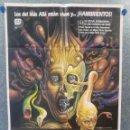 Cine: RE-SONATOR. JEFFREY COMBS, BARBARA CRAMPTON. AÑO 1986. POSTER ORIGINAL. Lote 160139846