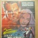 Cine: CARTEL CINE, CON LA MUERTE EN LOS TALONES, CARY GRANT, EVA MARIE SAINT, 1980, C1545. Lote 160260970