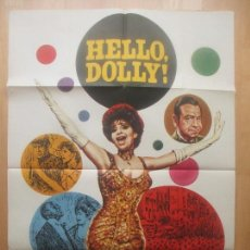 Cine: CARTEL CINE, HELLO DOLLY!, BARBRA STREISAND, WALTER MATTHAU, MAC, 1977, C1547. Lote 160261442