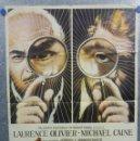 Cine: LA HUELLA. LAURECE OLIVIER, MICHAEL CAINE. AÑO 1973. POSTER ORIGINAL. Lote 160381218