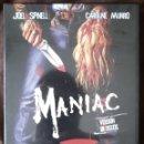 Cine: MANIAC (WILLIAM LUSTIG) 2 DVDS EDICIÓN DESCATALOGADA. Lote 160382190