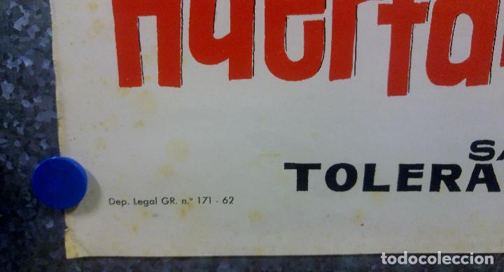Cine: HUERFANOS EN LA CALLE. Sarosh Irani, Honey Irani, Anuva Gupta. AÑO 1962. POSTER ORIGINAL - Foto 5 - 160387674