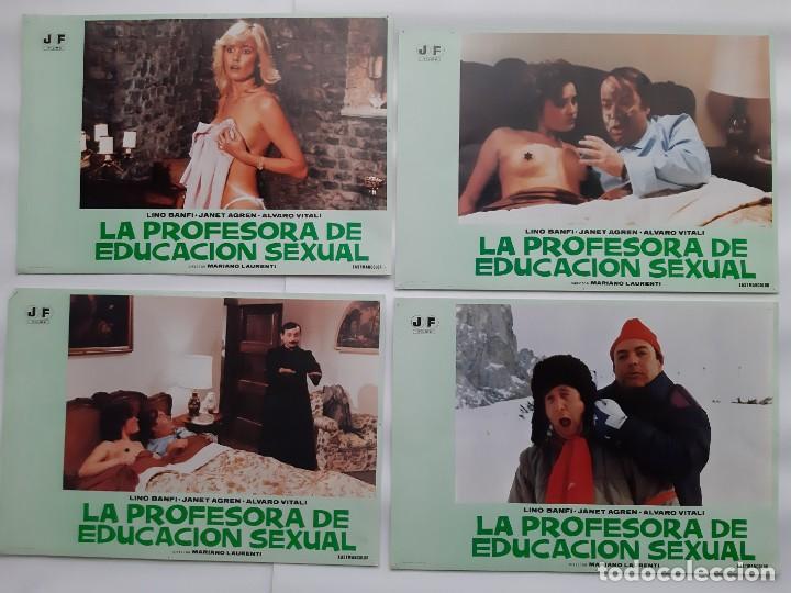 Cine: CARTEL CINE, LA PROFESORA DE EDUCACION SEXUAL, LINO BANFI, JANO , + 12 FOTOCROMOS - Foto 6 - 160473838