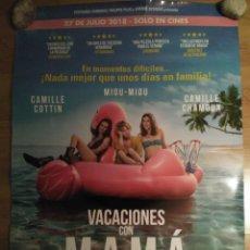 Cine: VACACIONES CON MAMÁ - APROX 70X100 CARTEL ORIGINAL CINE (L64). Lote 160518346