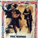Cine: DOS HOMBRES Y UN DESTINO. PAUL NEWMAN-ROBERT REDFORD. CARTEL ORIGINAL 1969. 100X70. Lote 160614474