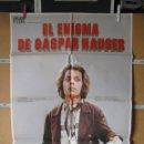 Cine: L1722 EL ENIGMA DE GASPAR HAUSER. Lote 160617010