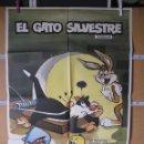 Cine: L1734 EL GATO SILVESTRE. Lote 160618786