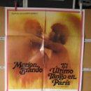 Cine: L1737 EL ULTIMO TANGO EN PARIS. Lote 160619406