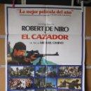 Cine: L1742 EL CAZADOR. Lote 160620098