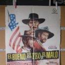 Cine: L1744 EL BUENO EL FEO Y EL MALO. Lote 160620346