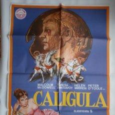 Cine: CARTEL CINE ORIGINAL: CALIGULA. Lote 160630522
