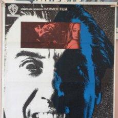 Cine: EL PODER DE LA SANGRE DE DRÁCULA. CHRISTOPHER LEE. CARTEL ORIGINAL 1972. 70X100. Lote 160658490