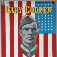 Cine: SARGENTO YORK. GARY COOPER-HOWARD HAWKS. Lote 160660302