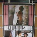 Cine: L1790 IDENTIDAD DESNUDA. Lote 160736106