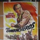 Cine: L1796 LOS COMANCHEROS. Lote 160736694
