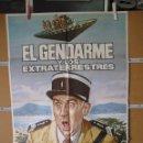 Cine: L1805 EL GENDARME Y LOS EXTRATERRESTRES. Lote 160737550