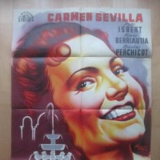 Cine: CARTEL CINE, CUENTOS DE LA ALHAMBRA, CARMEN SEVILLA, PEPE ISBERT, RAGA, 1960, LITOGRAFIA, C1569. Lote 160978326