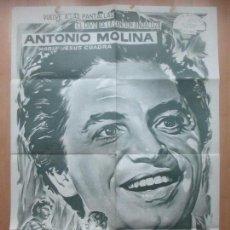Cine: CARTEL CINE, LA HIJA DE JUAN SIMON, ANTONIO MOLINA, C1574. Lote 160980722