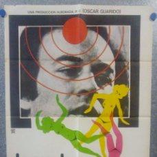 Cine: LA SOMBRA DE UN RECUERDO. MANUEL TEJADA, EMILIO GUTIÉRREZ CABA, SARA LEZAN AÑO 1978 POSTER ORIGINAL . Lote 160994542