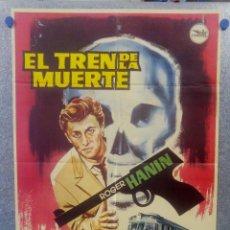 Cine: EL TREN DE LA MUERTE. ROGER HANIN, ROGER DUMAS, JEAN LE POULAIN AÑO 1963 POSTER ORIGINAL . Lote 160995126