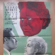 Cine: CARTEL CINE, HONRARAS A TU MADRE, PEDRO INFANTE, EMILIA GUIU, RITA MONTANER, C1579. Lote 161006438