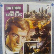 Cine: TRES PANTERAS AZULES. TONY KENDALL, BRAD HARRIS, ERIKA BLANC. AÑO 1978 POSTER ORIGINAL. Lote 161010590