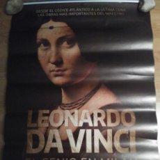 Cinéma: LEONARDO DA VINCI, EL GENIO DE MILÁN - APROX 70X100 CARTEL ORIGINAL CINE (L64). Lote 161178646