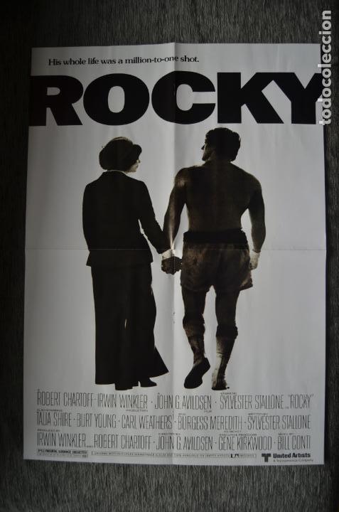 Cine: Poster o cartel doble #002 de Rocky y Gotham - Foto 2 - 161264106