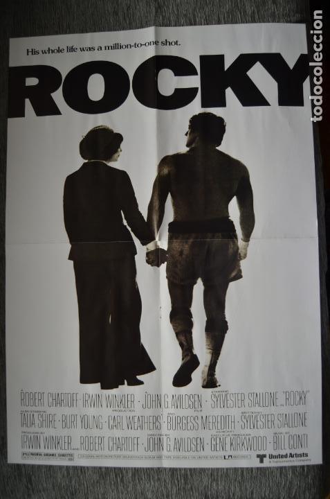 Cine: Poster o cartel doble #002 de Rocky y Gotham - Foto 3 - 161264106