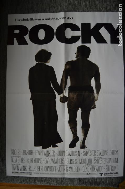 Cine: Poster o cartel doble #002 de Rocky y Gotham - Foto 4 - 161264106