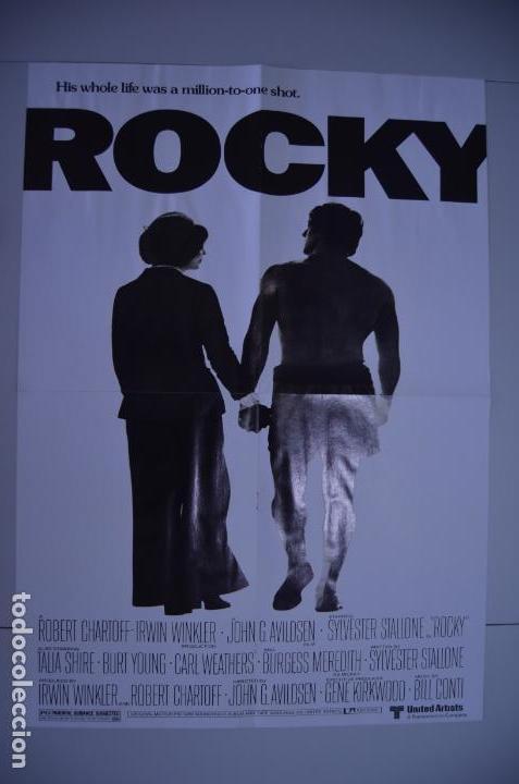 Cine: Poster o cartel doble #002 de Rocky y Gotham - Foto 5 - 161264106
