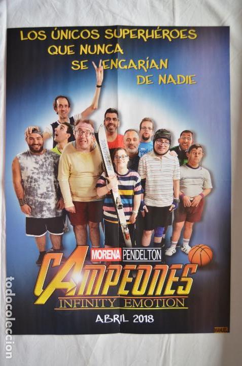 POSTER O CARTEL DOBLE DE CAMPEONES Y DEADPOOL 2 #25 (Cine - Posters y Carteles - Comedia)