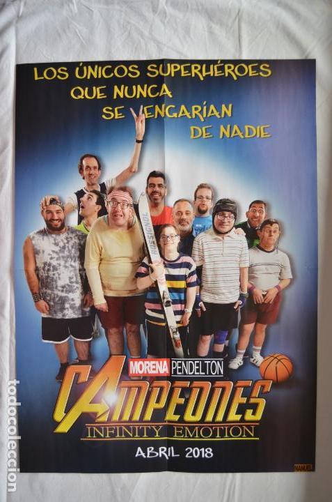 Cine: Poster o cartel doble de Campeones y Deadpool 2 #25 - Foto 2 - 161388294