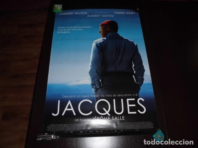 POSTER O CARTEL DE CINE. JACQUES . ORIGINAL. BUEN ESTADO. (Cine - Posters y Carteles - Documentales)