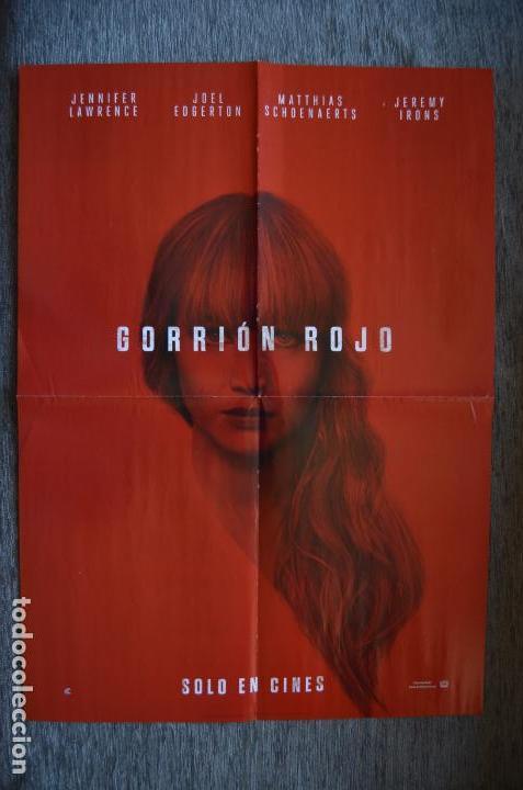 POSTER O CARTEL DOBLE #032 DE GORRIÓN ROJO Y JESSICA JONES (Cine - Posters y Carteles - Suspense)