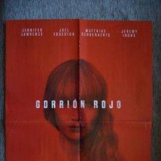 Cine: POSTER O CARTEL DOBLE #032 DE GORRIÓN ROJO Y JESSICA JONES. Lote 161672214