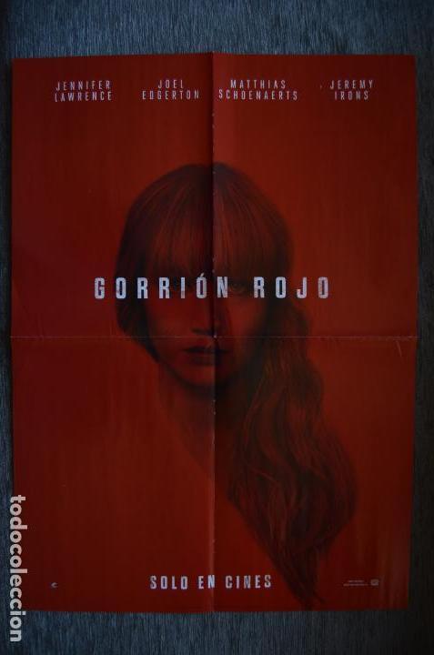Cine: Poster o cartel doble #032 de Gorrión rojo y Jessica Jones - Foto 2 - 161672214