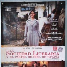 Cine: LA SOCIEDAD LITERARIA Y EL PASTEL DE PIEL DE PATATA. Lote 161673693
